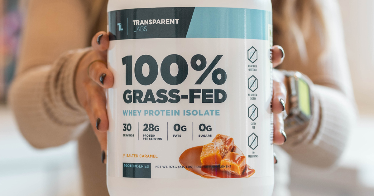 100 Percent Grass Fed Protein