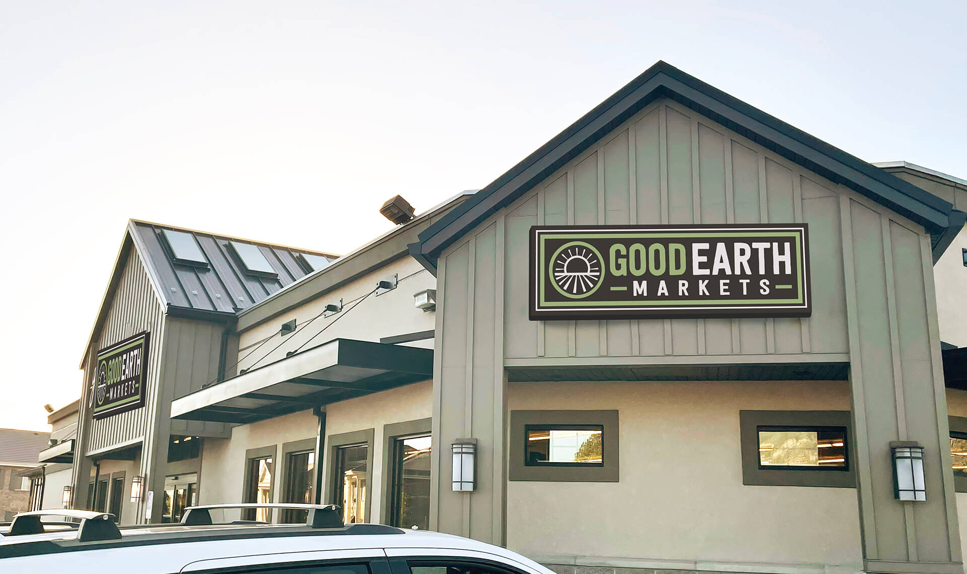 Good Earth Markets Store Front Sandy