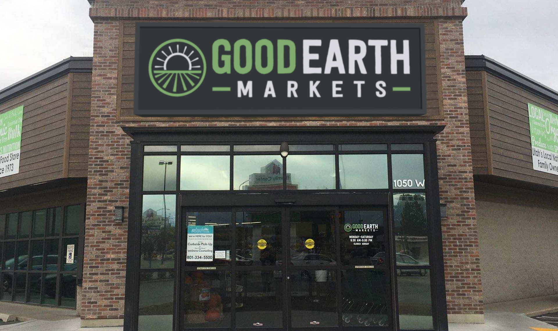 Good Earth Markets Store Front Riverdale